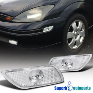 For 2000 2005 Ford Focus Bumper Lights Signal Lamps Left right