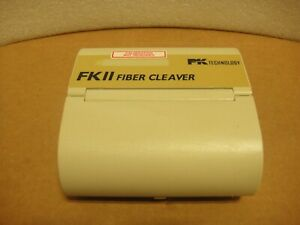 One Pk Technology Fk11 std Fiber Cleaver Used Pictured