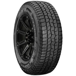 4 lt245 75r17 Cooper Discoverer Snow Claw 121 118r E 10 Ply Bsw Tires