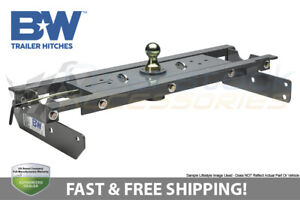 B w Turnoverball Gooseneck Hitch Ball Towing Trailer For Ram 2500 2014 2018
