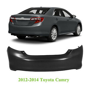 New Rear Bumper Cover For 2012 2014 Toyota Camry Primed To1100296 5215906961