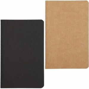 24pack Pocket Notebooks Kraft Cover Notepads Notebooks Lined Paper 3 5x5 5