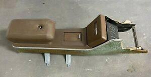 1970 1971 Ford Thunderbird T Bird Floor Center Console Front Brown 428