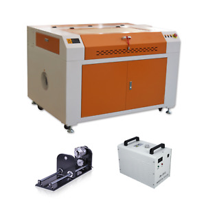 100w Co2 Laser Engraving Cutting Machine Usb Laser Machine Rotary Axis cw3000