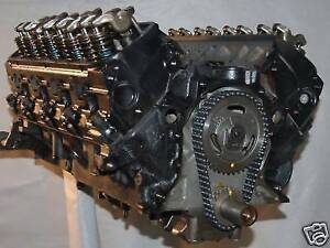 Ford 351 Windsor 1987 1993 Remanufactured Engine Bronco