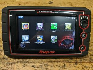 Snap On Modis Edge Scanner 20 2 Update Domestic Asian Euro Labscope Voltmeter