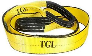 Tgl 3 Inch 8 Foot Tree Saver Winch Strap Tow Strap 30 000 Pound Capacity