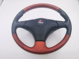 Rare Jdm Trd Black Red Leather Srs Steering Wheel Celica Supra A247