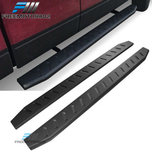 Fits 01 18 Chevy Silverado Gmc Sierra 83 In Side Step Running Boards Pair