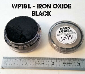 Wp18 l Dave s Weathering Powders Large Size All Natural Pigment Iron Oxide Black