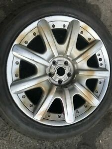 19 Bentley Continental Gt Factory Oem Wheel 2005 98043 Wcc1017 3w0601025k C