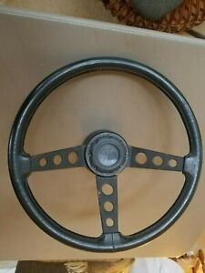 Original Ford Truck Mustang Fairmont 3 spoke Sport Steering Wheel Oem 70s 80s