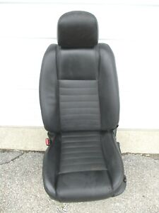 Left Seat Ford Mustang Driver Side 05 06 07 Leather