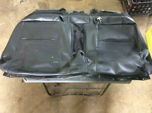 2004 2005 2006 2007 2008 Acura Rsx Rear Seat Bottom Black Leather Cover