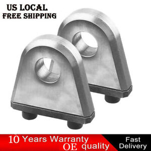 Heavy Duty Weld Bolt On D ring clevis shackle hydraulic offroad mount cnc atv