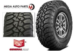 1 General Grabber X3 33x12 50r17lt 114q Red Letter Rugged Mud Terrain M t Tires