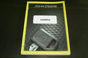 John Deere 3155 Tractor Parts Catalog Manual