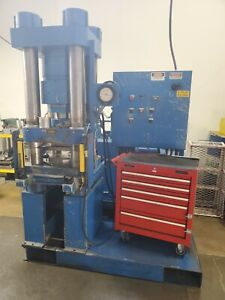 Rodgers 300 Ton Hydraulic Press 4 post Down acting Type