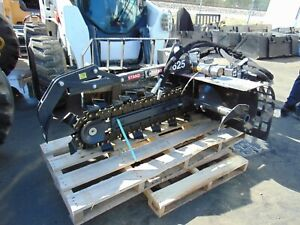 New 2021 Bradco 625 Skid Steer Trencher Attachment Universal Fitment