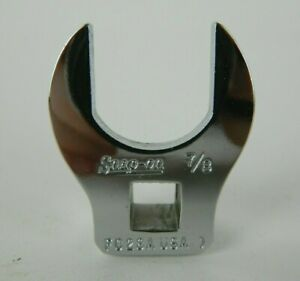 Nos Snap on 3 8 Drive 7 8 Fc28a Open Ended Crowfoot Crow s Foot Crowsfoot