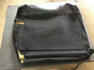 2002 2006 Acura Rsx Rear Upper Left Driver Seat Back Black Leather