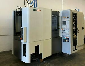 Dmg Mori Seiki Nhx 4000 Horizontal Machining Center 4 Axis 12000 Rpm Cnc 2013