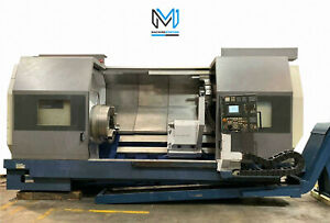 Mori Seiki Sl 600cmc 2000 Cnc Turn Mill 11 Big Bore Lathe 31 Chuck 80 Center
