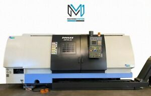 Doosan Puma S670lm Cnc Turn Mill Center 5 1 Bore C Axis Live Tool 70 Lathe