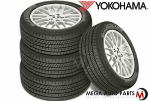 4 Yokohama Avid Ascend Gt 205 55r16 91h All Season Tires 65k Mileage Warranty
