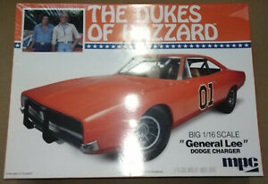MPC Dukes of Hazzard 1 16th 1969 Dodge Charger General Lee Kit with Supercharger $149.95