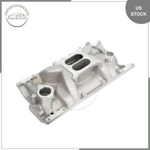 Fits Chevy 1996 Up Vortec L31 5 0 5 7l Air Intake Manifold Weiand 8151 Cast Iron