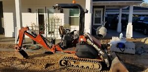 Ditch Witch Xt 850 Excavator Front Loader Runs Strong