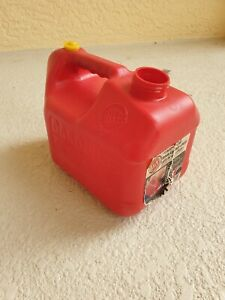 Blitz 1 Gallon 4 Oz Pre ban Vented Gas Can Plastic No Spout 11805