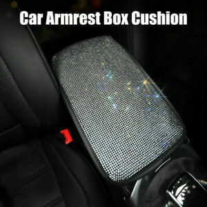Universal Car Armrest Pad Trim Cover Center Console Box Cushion Accessories New