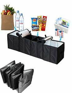 Car Trunk Organizer Truck Suv Grocery Storage Pickup Divider Container Foldable