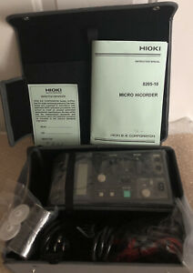 Hioki 8205 10 Micro Hicorder true Rms Voltage And Current Recorder 1 Channel