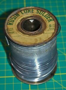 Vintage Rosin Core Solder For Radio And Television 3lb 9oz