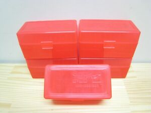 .223 5.56 Rifle 50rd Plastic Ammo Case Box Red 5ct 223 556 Berry#x27;s MFG $22.95
