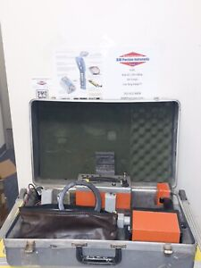 Metrotech Vivax 850 Locator W Hard Case Transmitter Back From Service