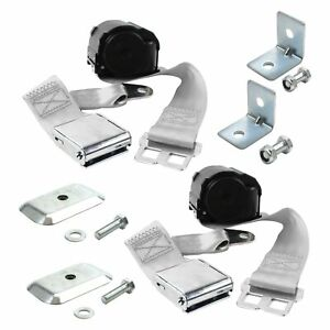 For Ford 1 2 Ton Pickup 42 47 2 point Airplane Buckle Retractable Bucket Seat
