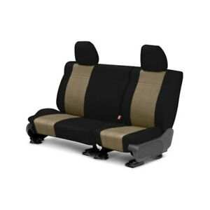 For Toyota Previa 94 97 Neosupreme 2nd Row Black Beige Custom Seat Covers