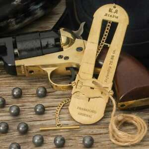 Frankford 19th Century Stadia Range Finder Muzzleloading Brass Military Army $18.99