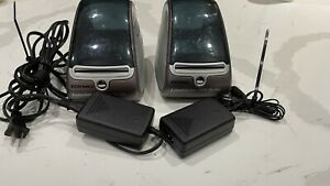 Lot Of 2 Dymo 93176 Label Writer 400 Turbo Printer Only No Spool Or Power Cord