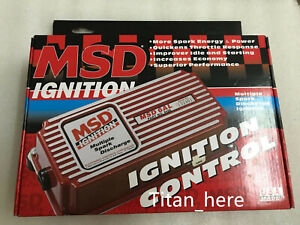 New Msd Ignition 6al Style Multiple Spark Discharge Red Cdi Ignition Box 6420