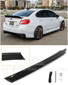 Eos For 15 21 Subaru Wrx Sti Rb Duckbill Style Rear Trunk Lid Wing Spoiler