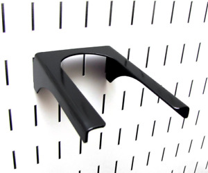 Wall Control Pegboard 2in Handle Pegboard Bracket Slotted Metal Pegboard Hook Pe