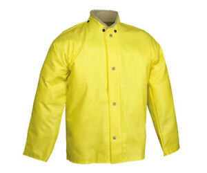 Tingley J31207 Webdri Chemical Resistant Jacket with Hood Snaps Size Small