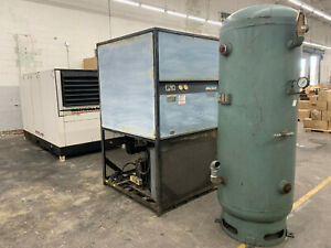 1998 Ingersoll rand Ssr ep150 150 Hp 575v Air Compressor W Dryer And Air Tank