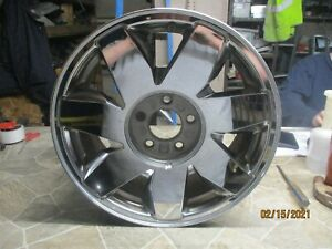 2003 2005 Cadillac Deville Wheel Rim Stock 17x7 1 2 5 Lug 115mm 7 Spoke Chrome