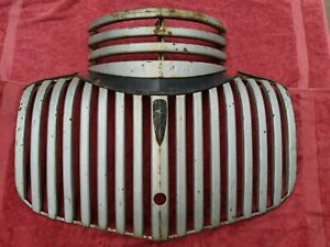 1941 1942 1946 Chevy Pickup Truck Lower Upper Grille Complete Oem Original